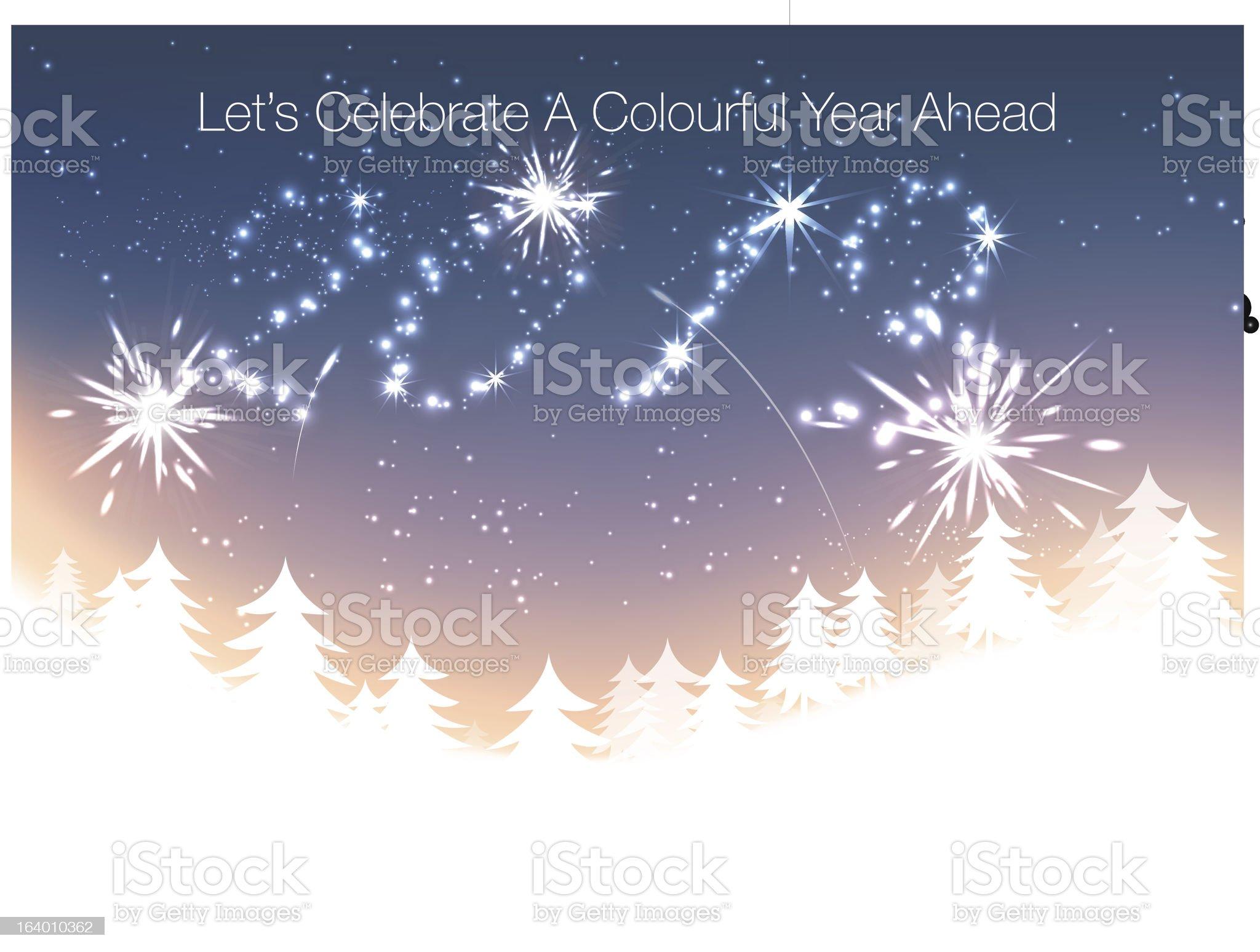 New Year Celebration royalty-free stock vector art