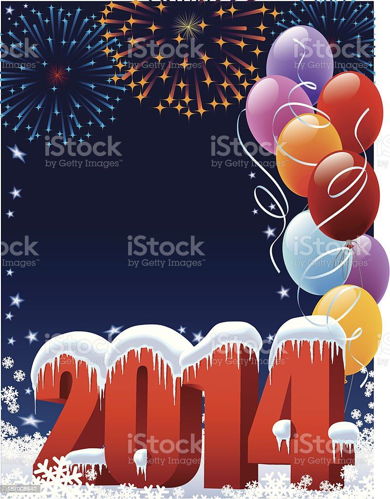 New Year decoration royalty-free stock vector art
