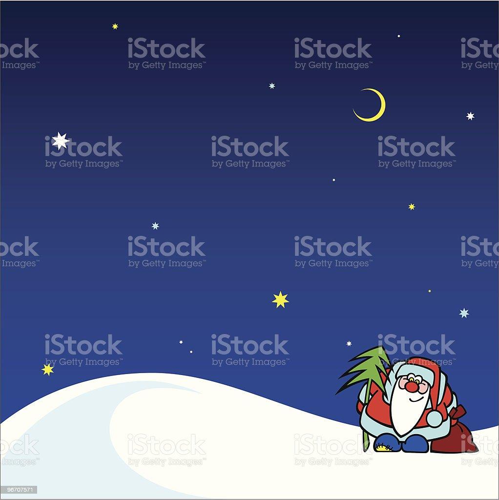 new year night royalty-free stock vector art