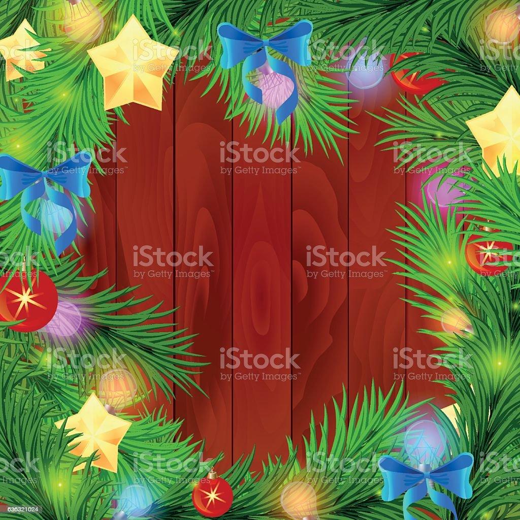 New year tree stock vecteur libres de droits libre de droits