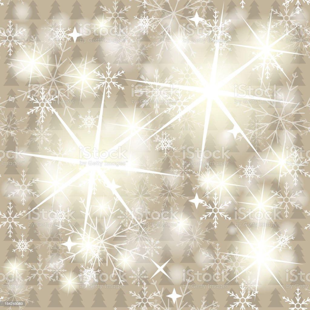 New Year Trees seamless. Vector illustration royalty-free stock vector art