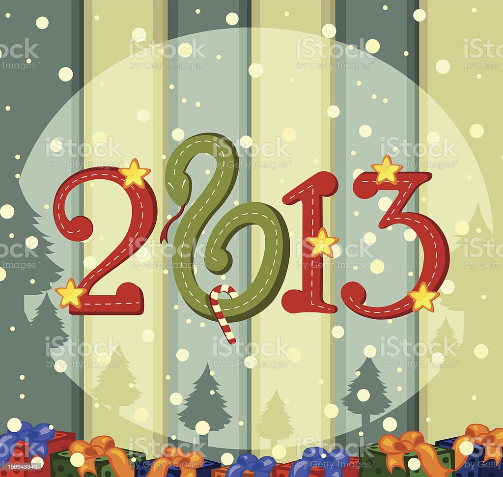 New year royalty-free stock vector art