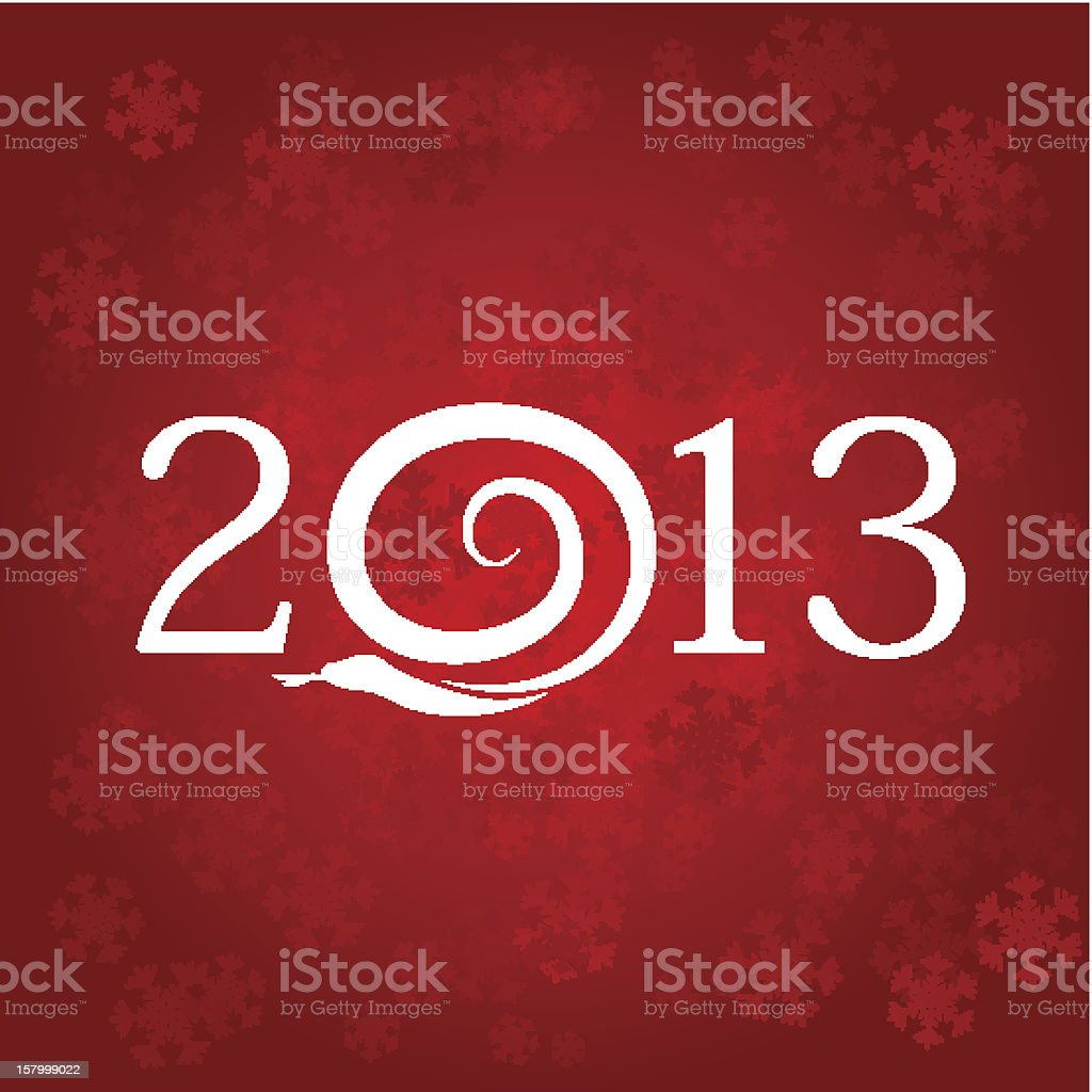 New Year's background royalty-free stock vector art