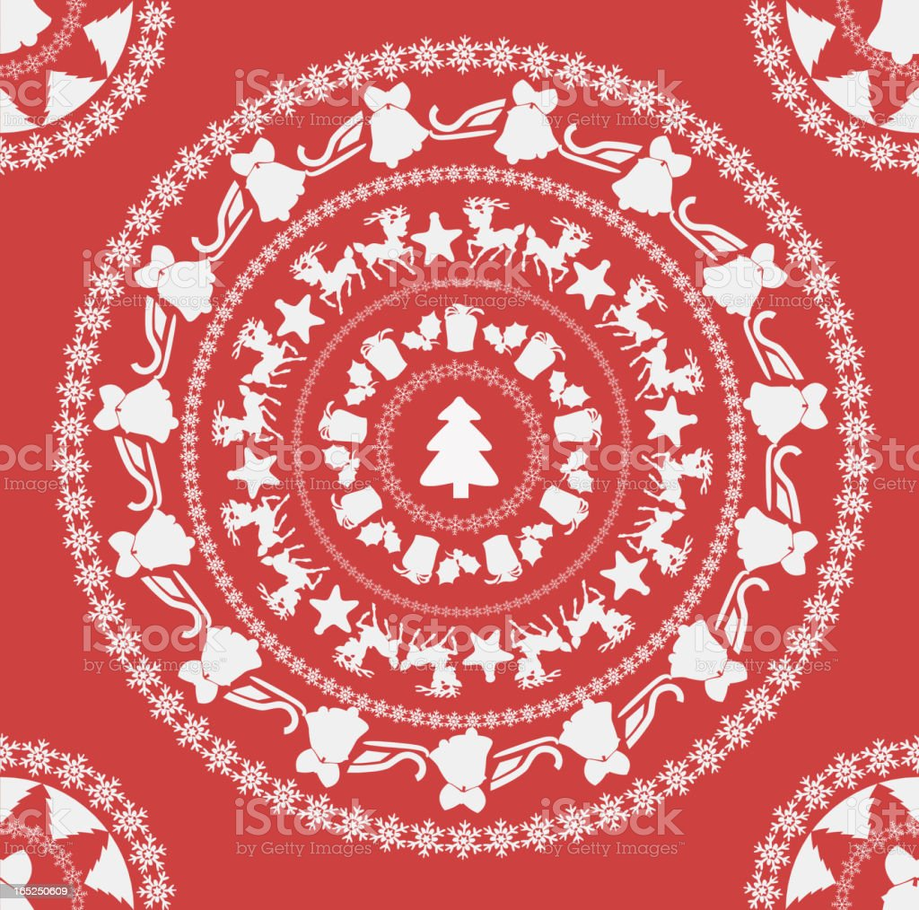 New Year's circle royalty-free stock vector art