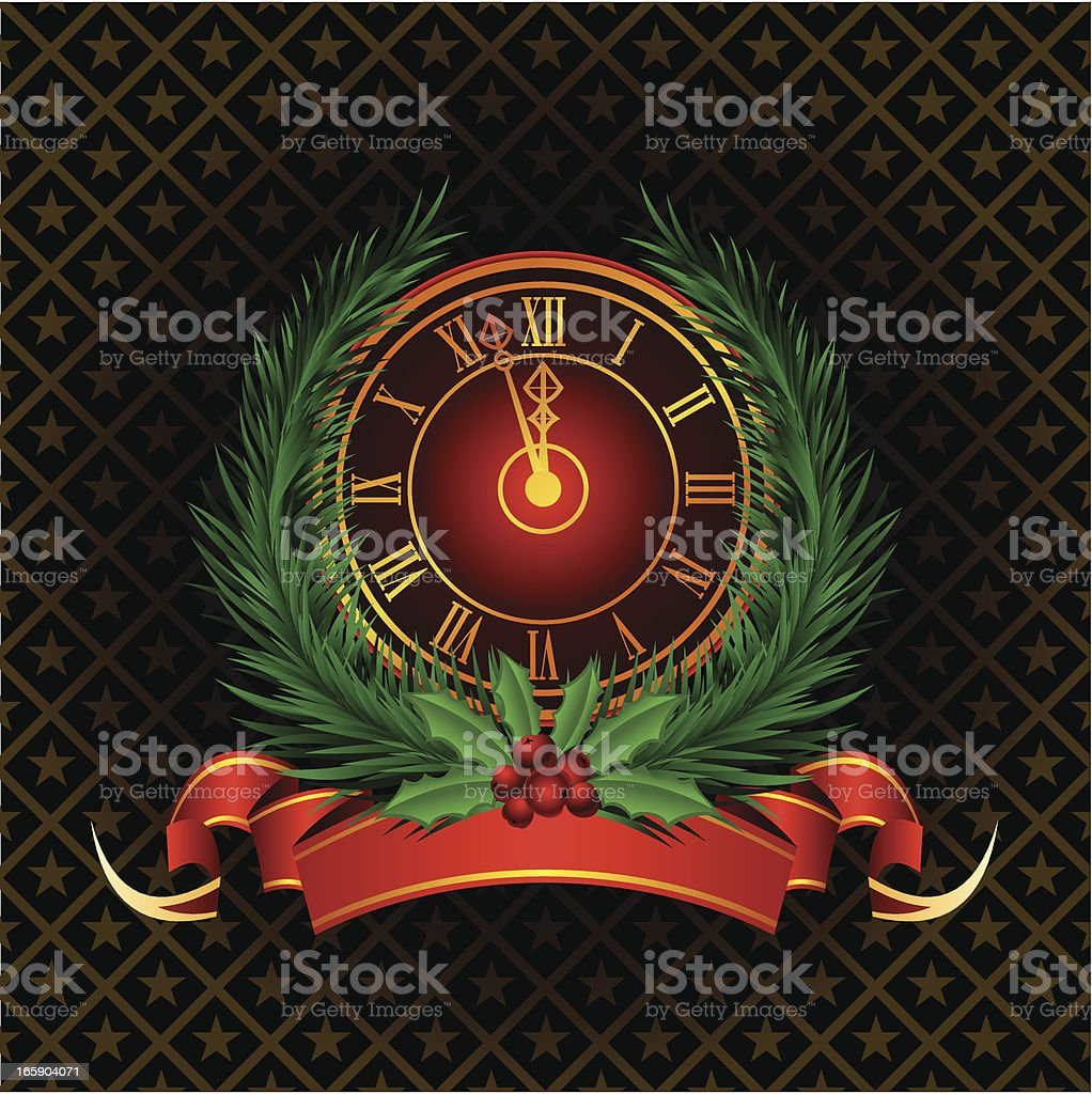 New Years's Background royalty-free stock vector art