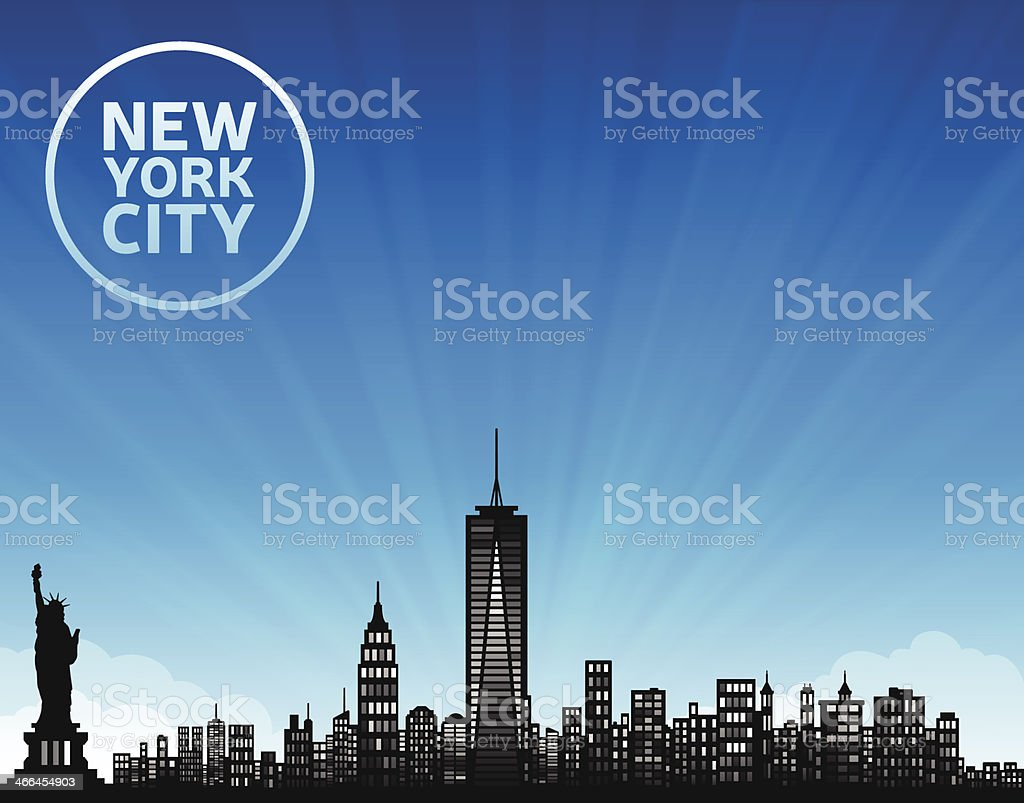 New York City royalty-free stock vector art