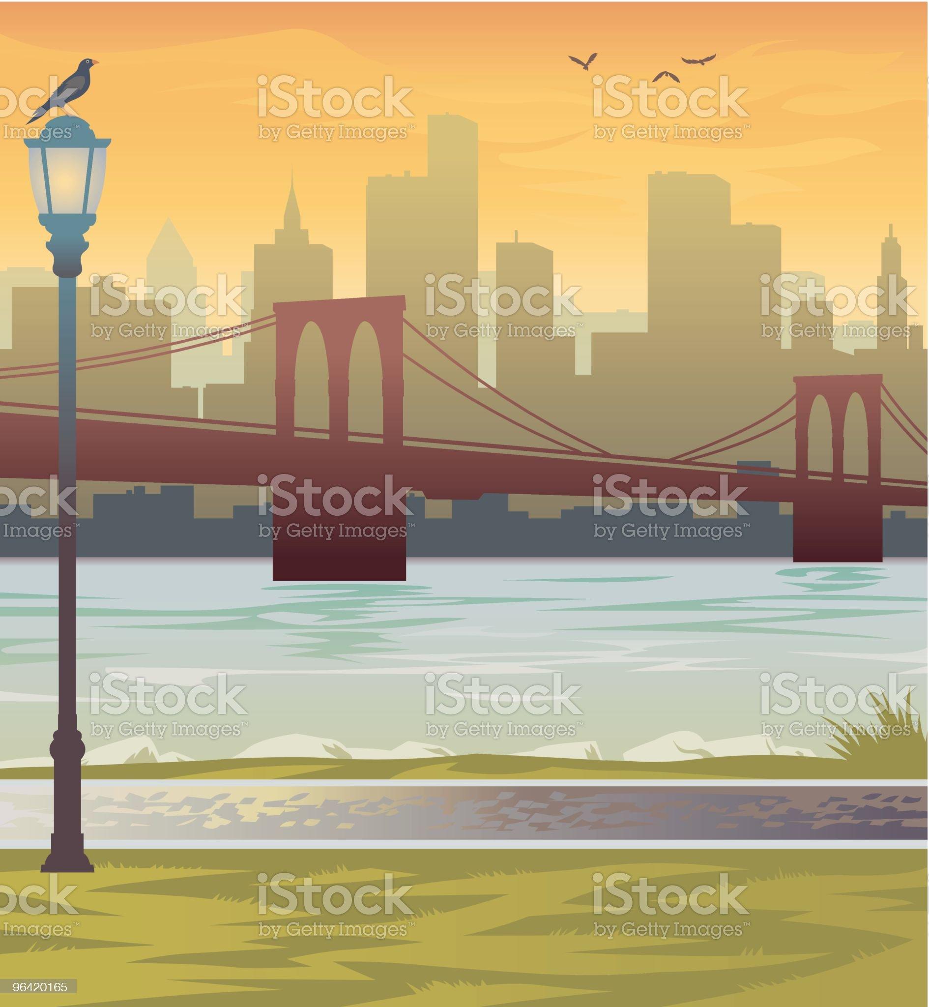 New York City royalty-free stock vector art