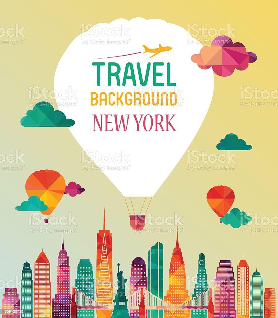 New York city. Vector illustration vector art illustration