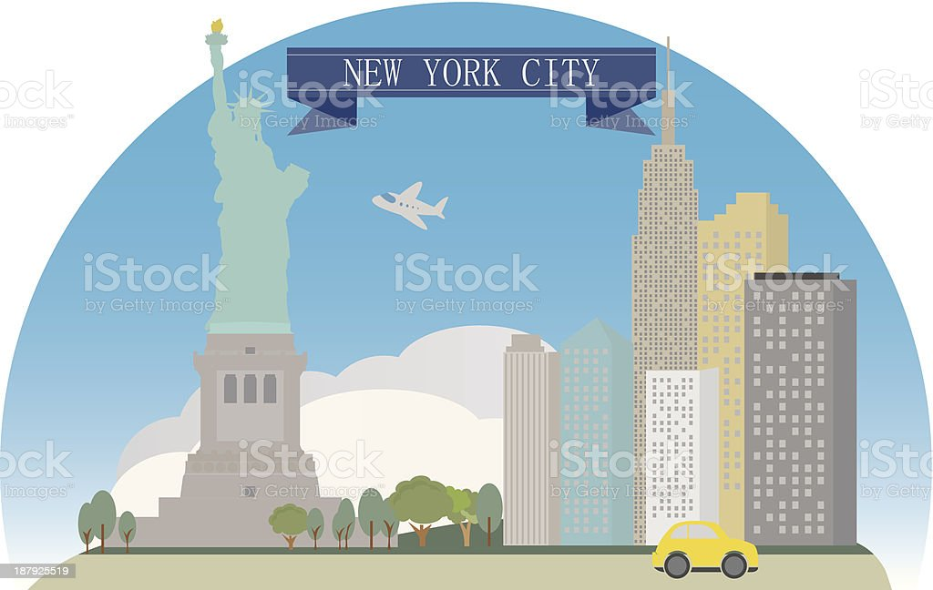 New York royalty-free stock vector art