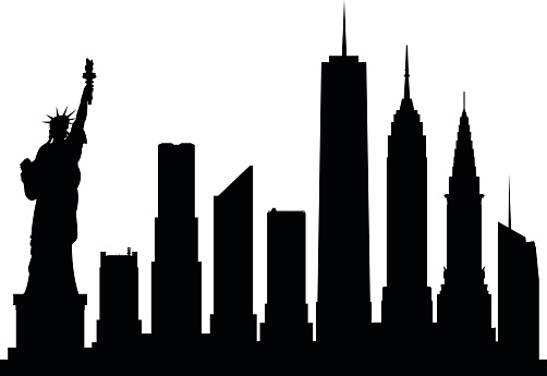 Empire State Building Clip Art, Vector Images ...