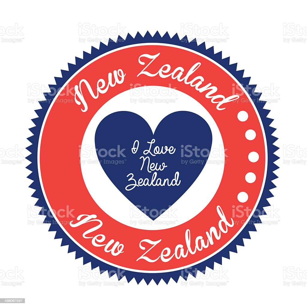 New zealand design royalty-free stock vector art