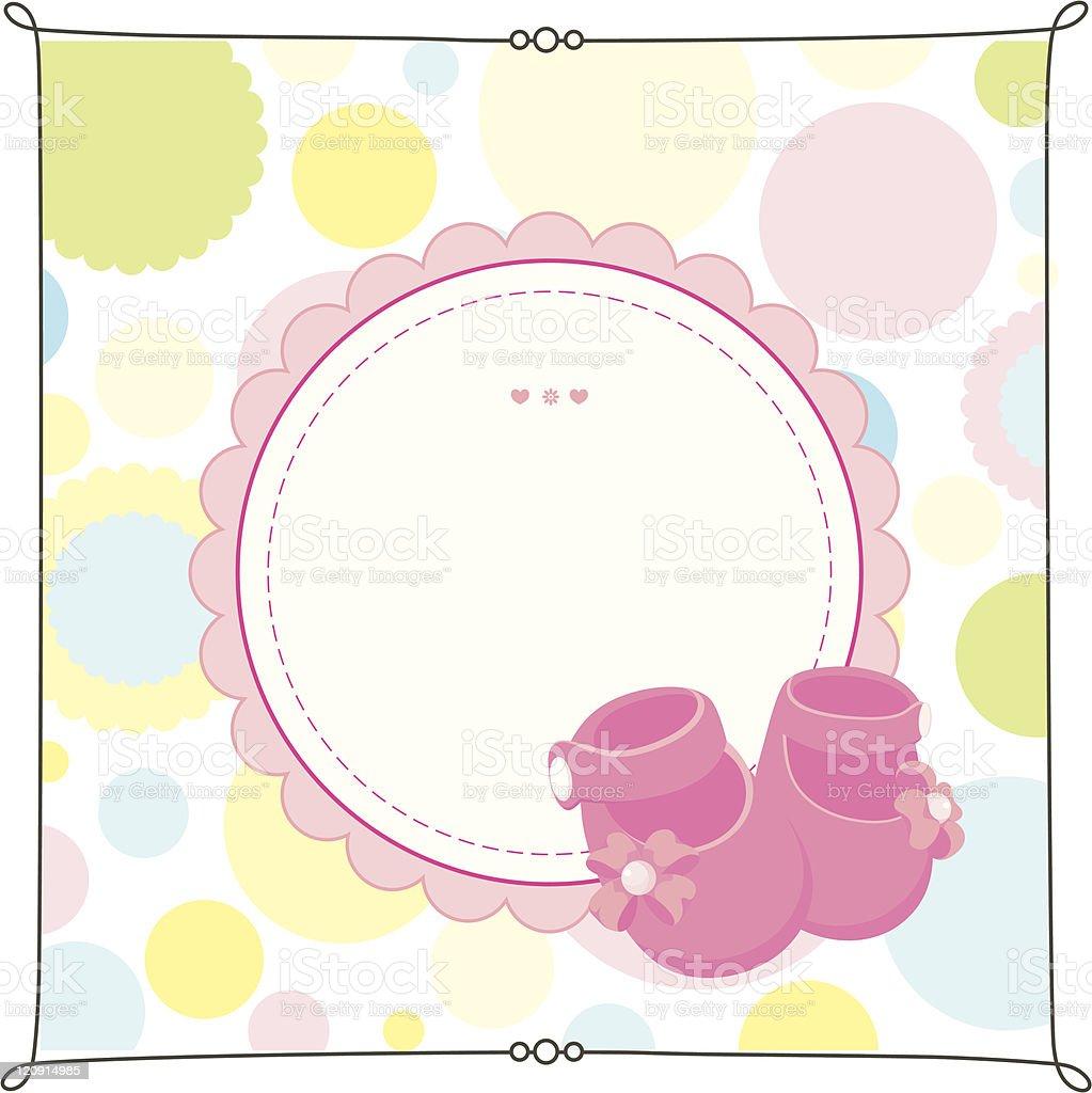 Newborn banner royalty-free stock vector art