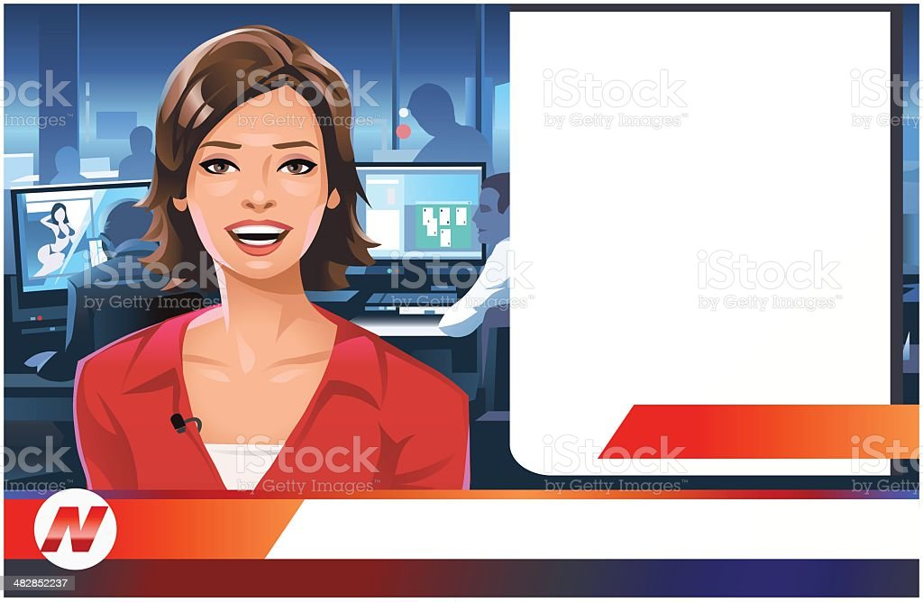 News royalty-free stock vector art