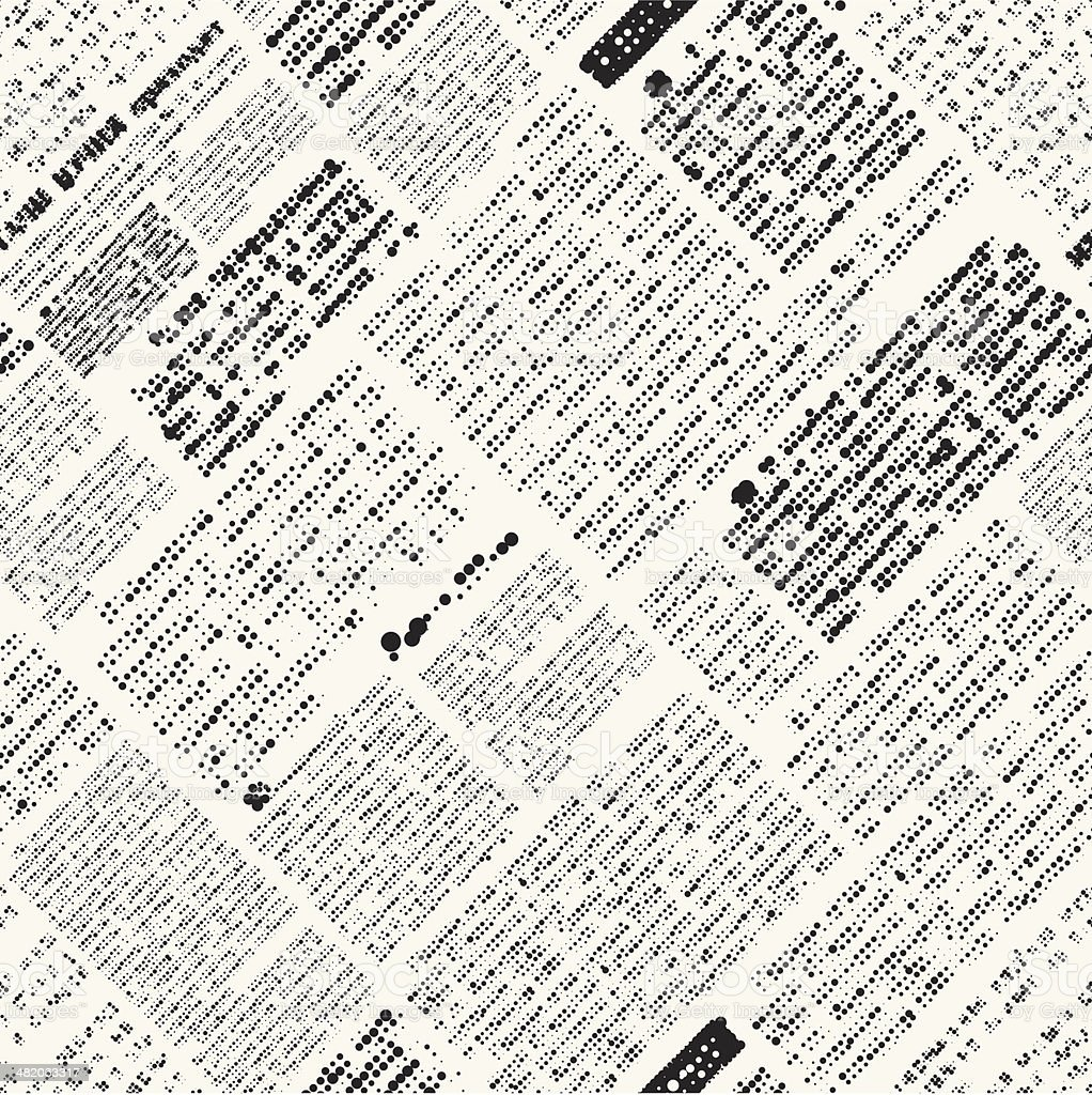 Newspaper imitation vector art illustration