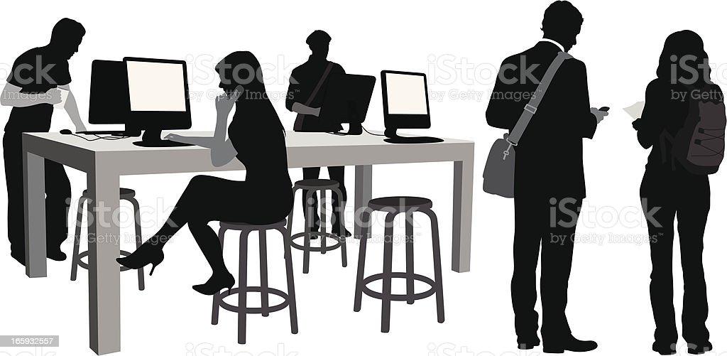 NewTech vector art illustration