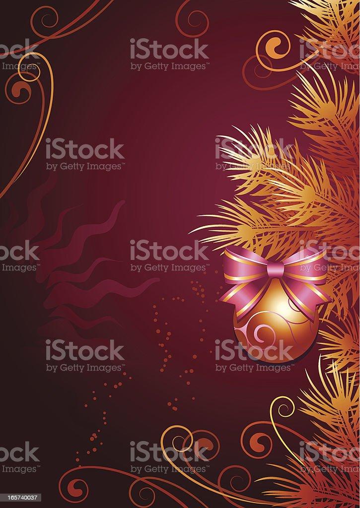 New-year ball royalty-free stock vector art