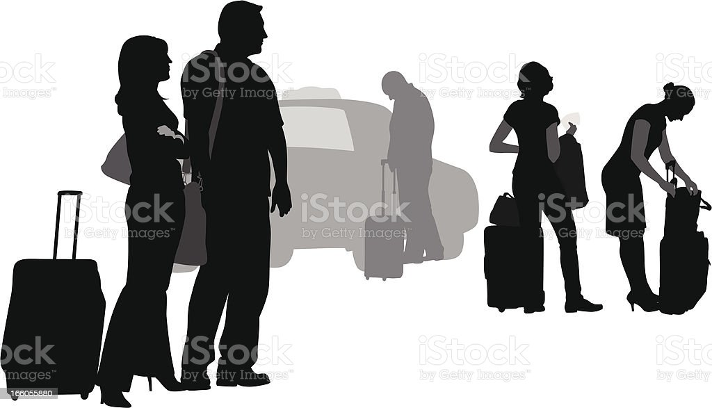 Next Cab royalty-free stock vector art