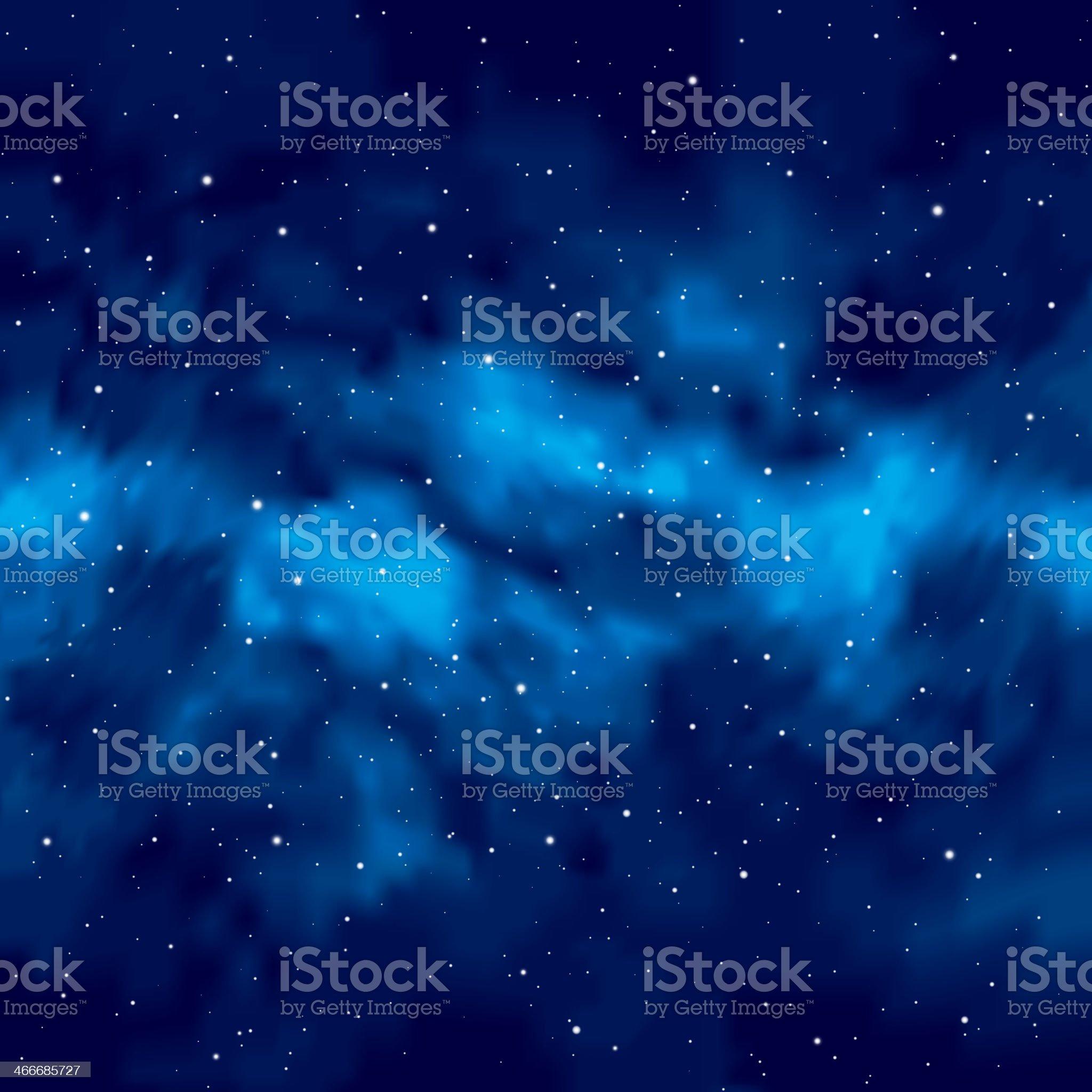 Night sky with stars royalty-free stock vector art