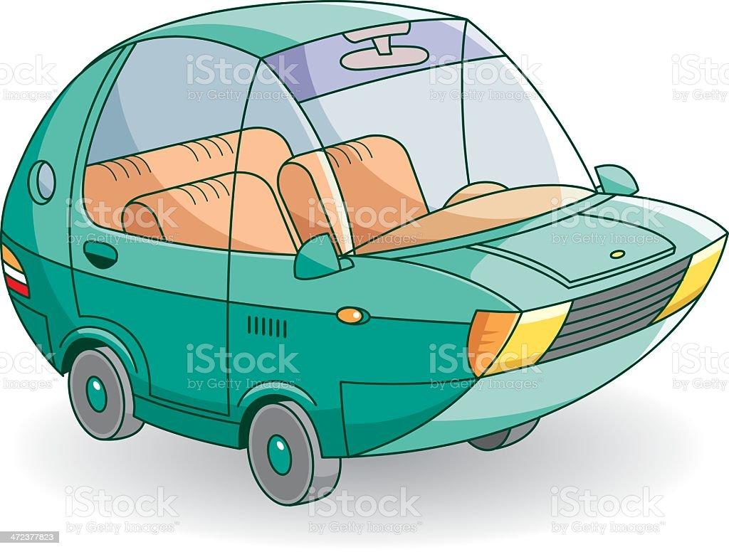 no brand car royalty-free stock vector art