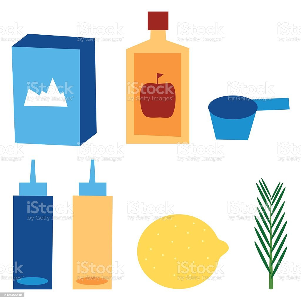 No shampoo equipment vector illustration vector art illustration