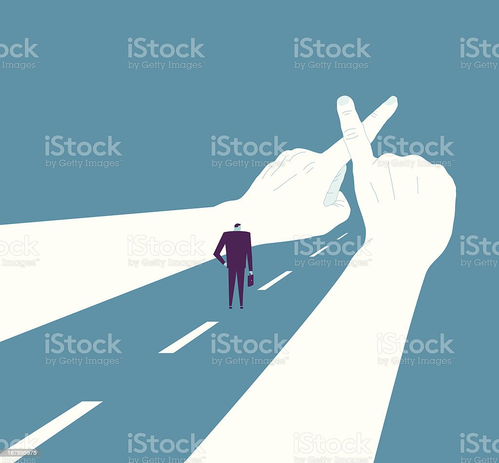 No Way vector art illustration