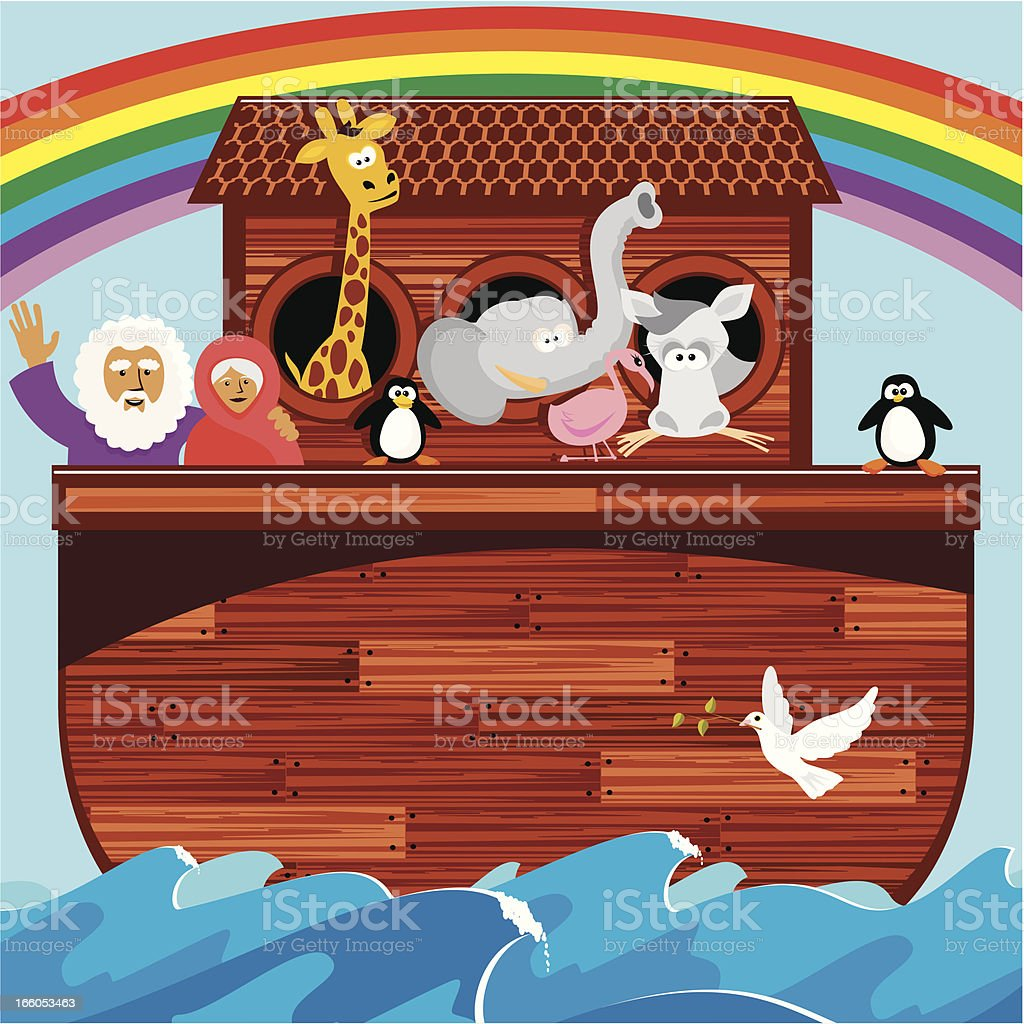 Noah's Ark royalty-free stock vector art