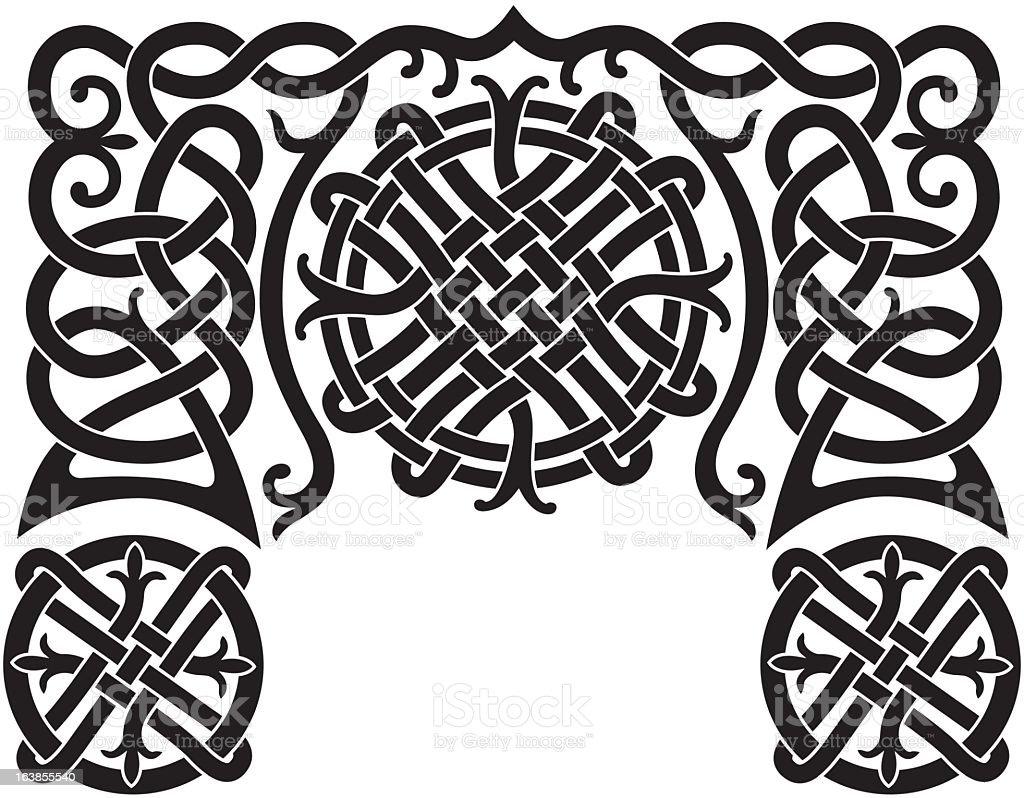 Nordic pattern royalty-free stock vector art
