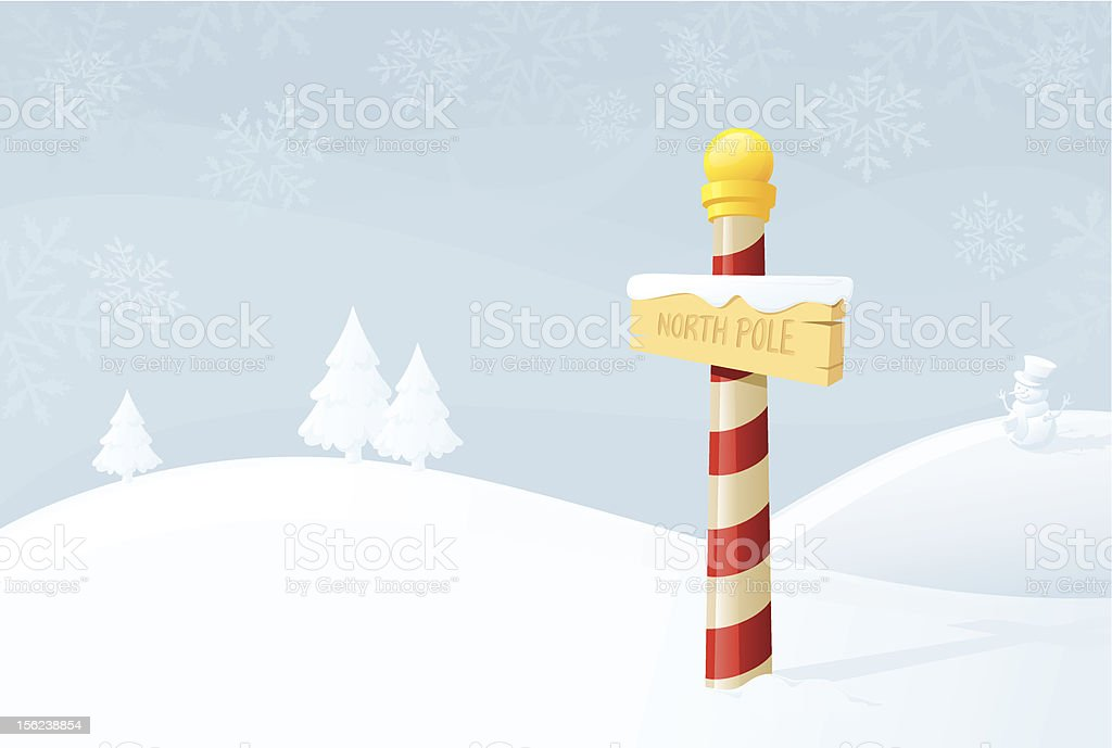 North Pole - incl. jpeg royalty-free stock vector art