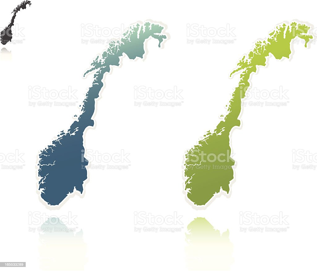 Norway graphic royalty-free stock vector art