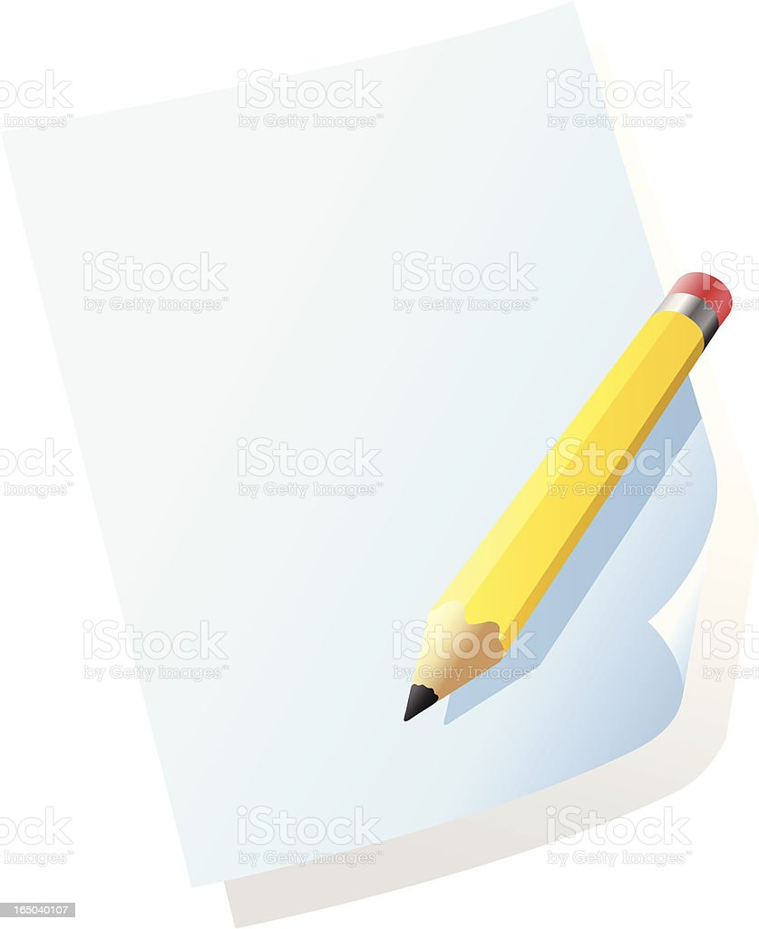 Note royalty-free stock vector art