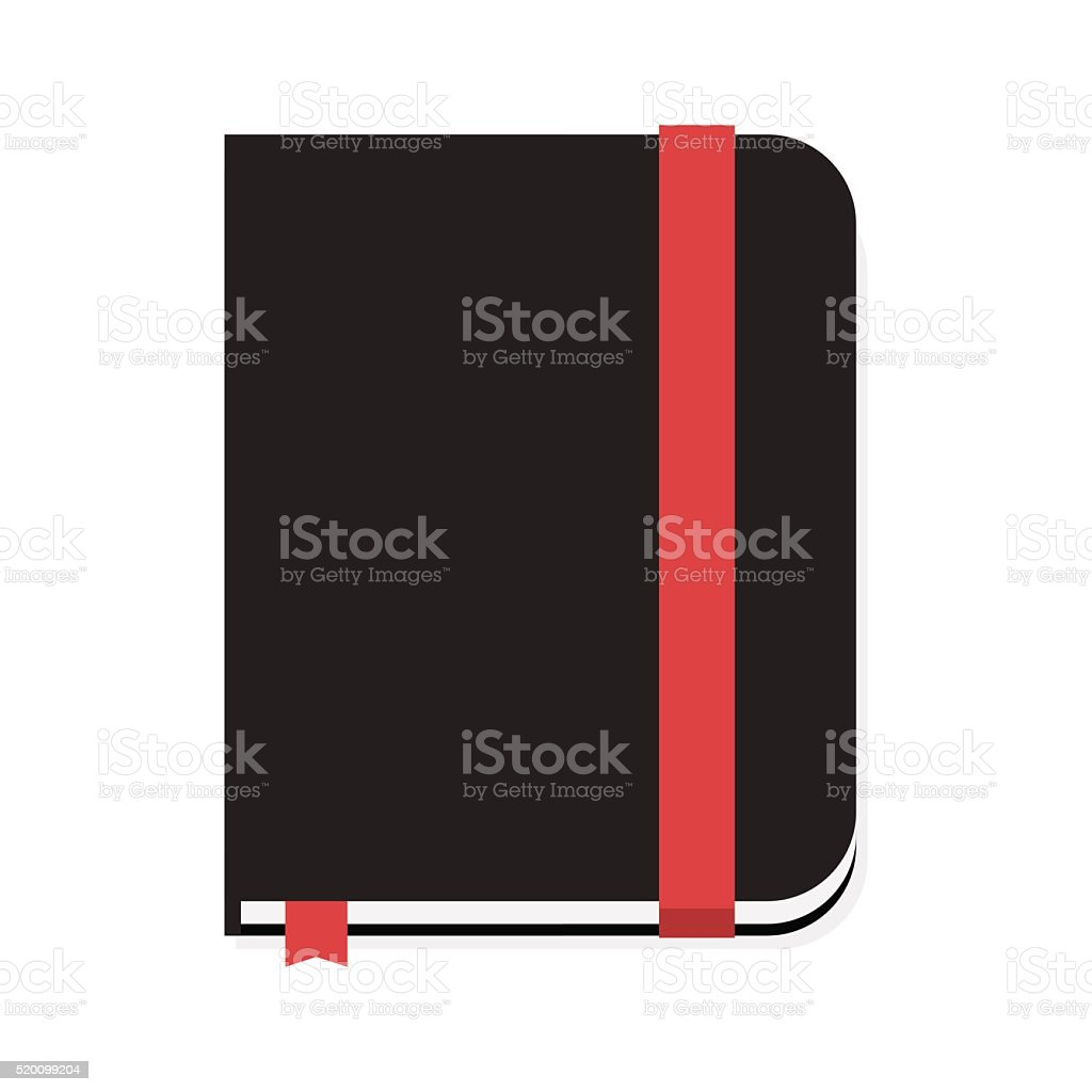Notebook vector illustration vector art illustration