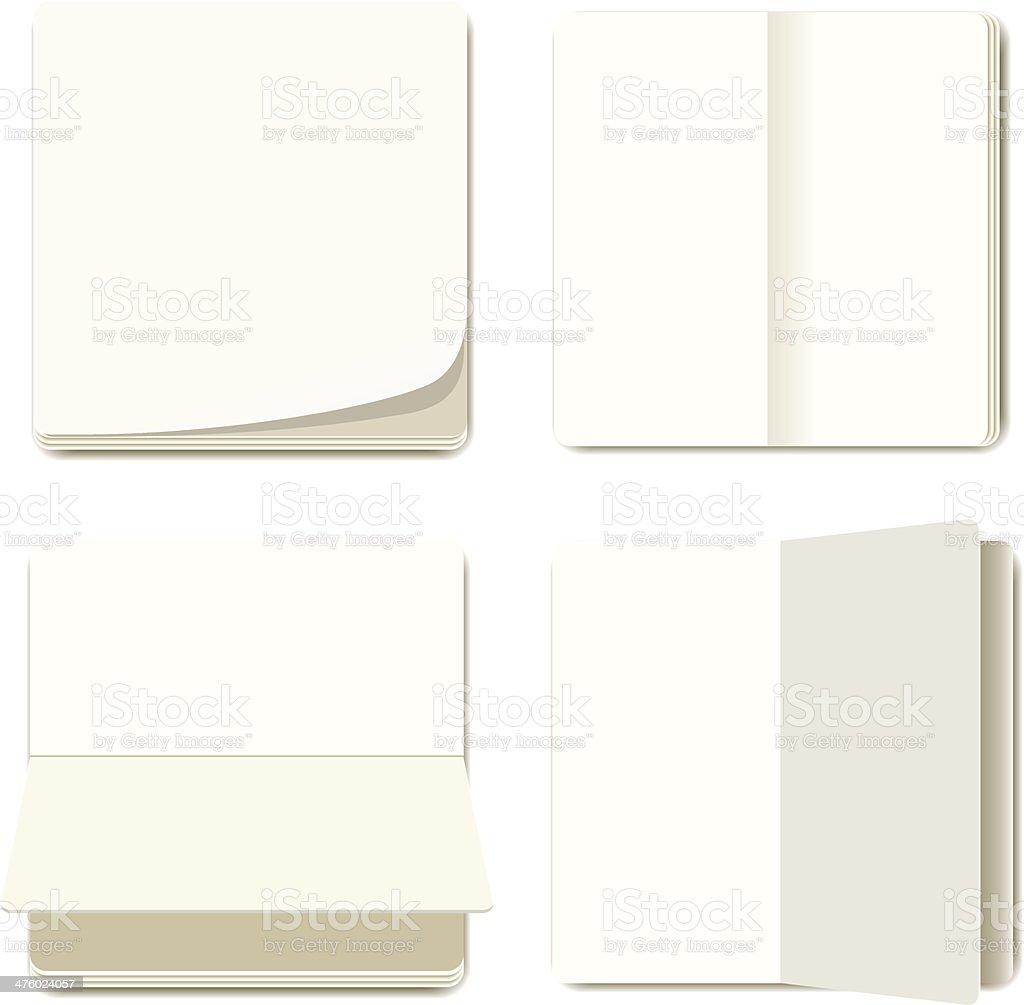 NotePaper royalty-free stock vector art