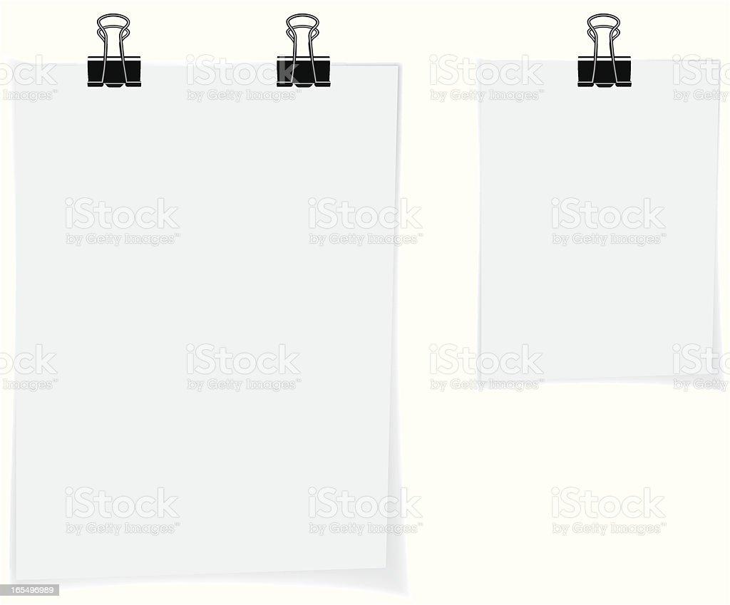 Notes royalty-free stock vector art