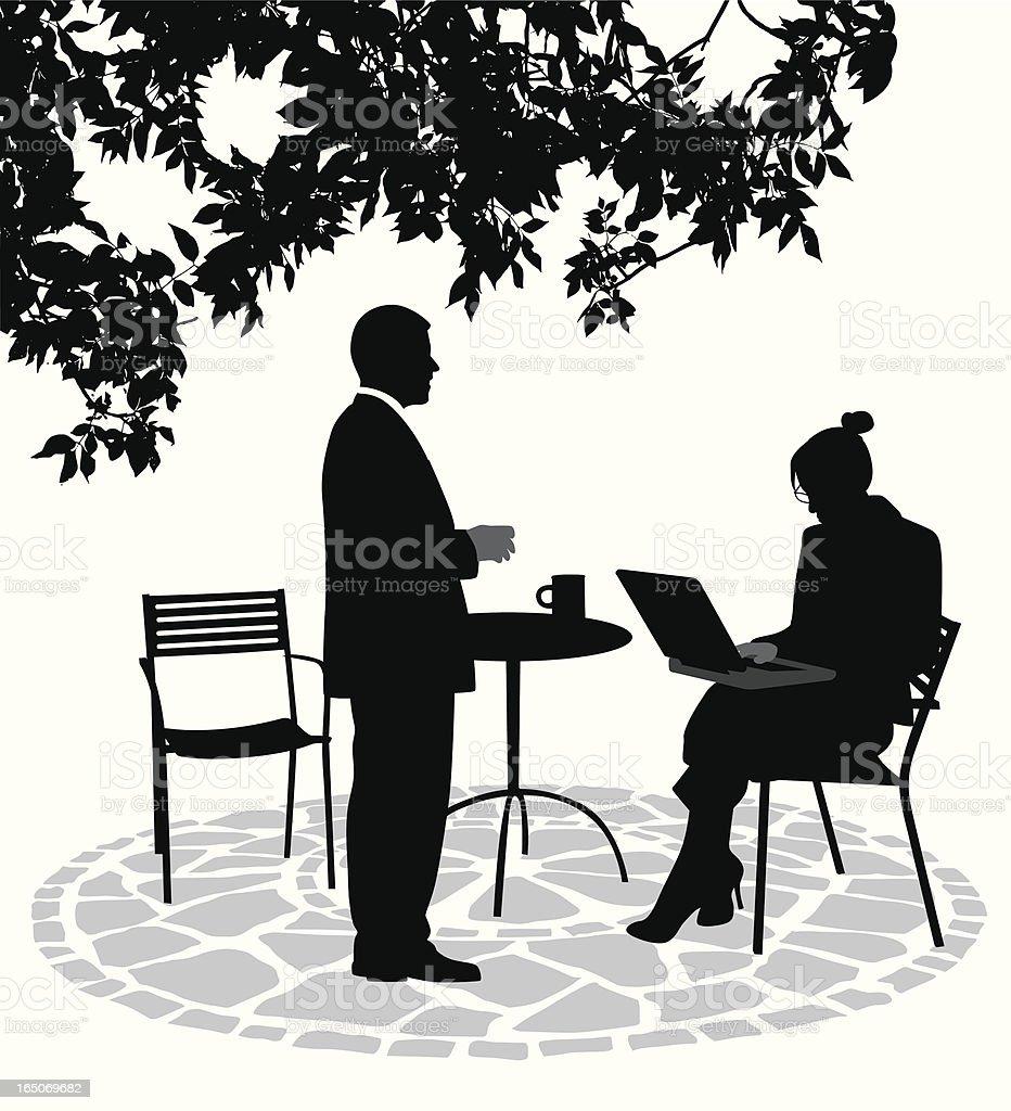 Noteworthy Vector Silhouette vector art illustration