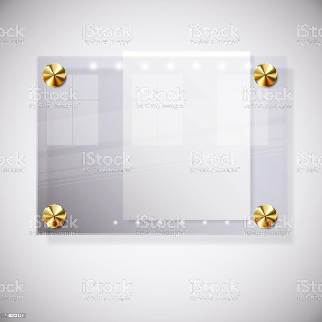 Notice board royalty-free stock vector art