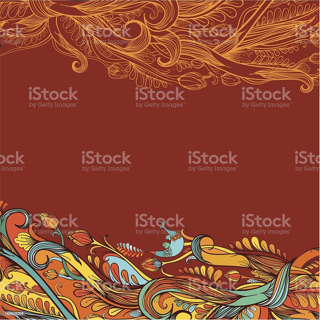 November wind royalty-free stock vector art