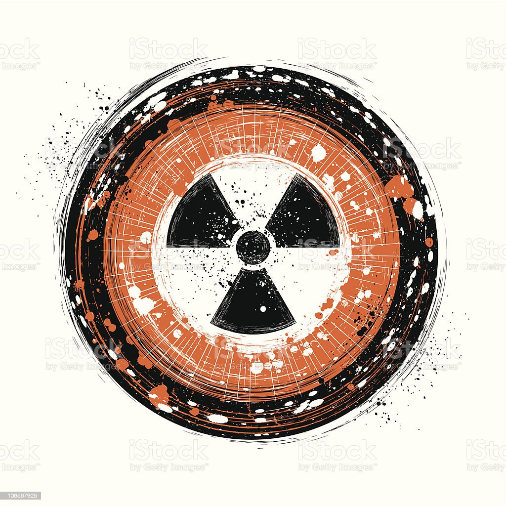nuclear royalty-free stock vector art