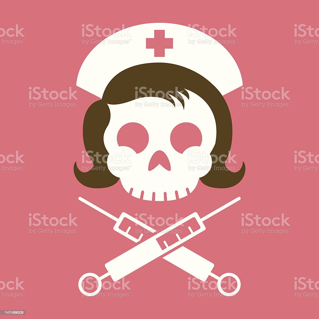 Nurse Roger vector art illustration