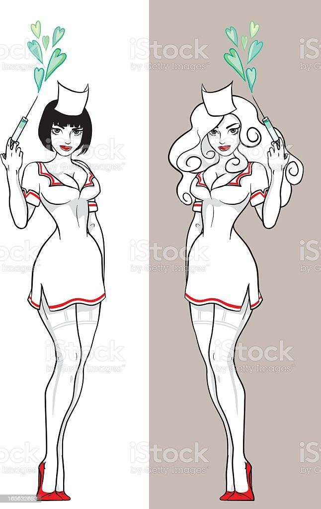 nurse royalty-free stock vector art