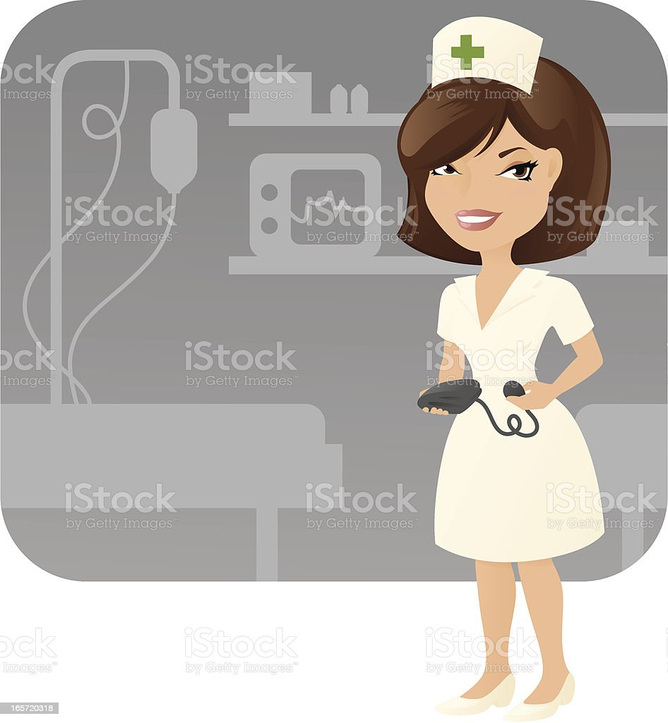 Nurse royalty-free stock vector art
