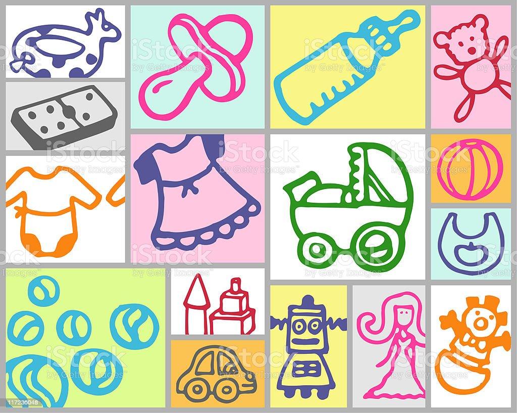 nursery theme royalty-free stock vector art