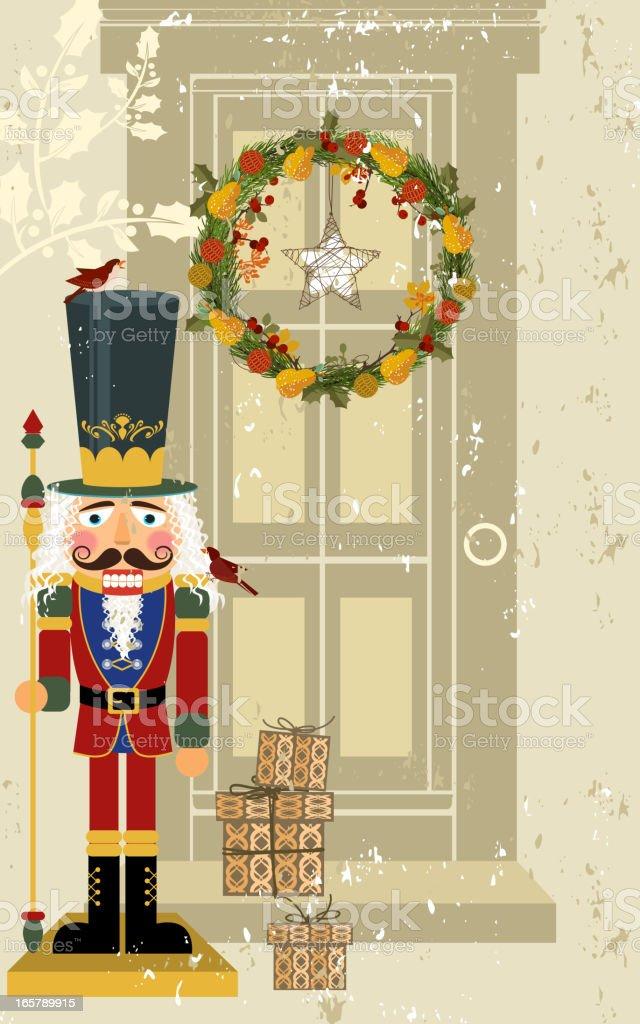 Nutcracker Holiday Design vector art illustration