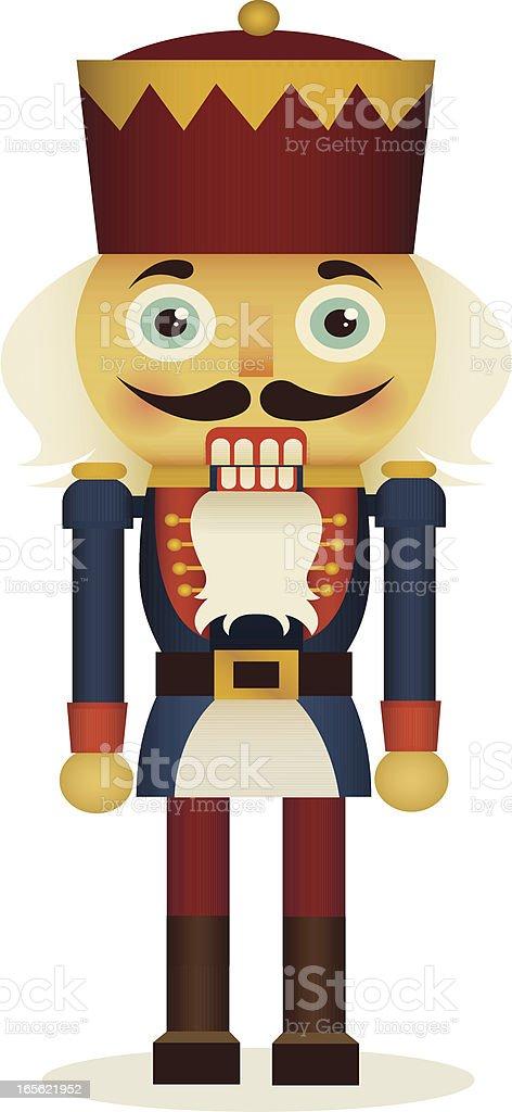 Nutcracker royalty-free stock vector art