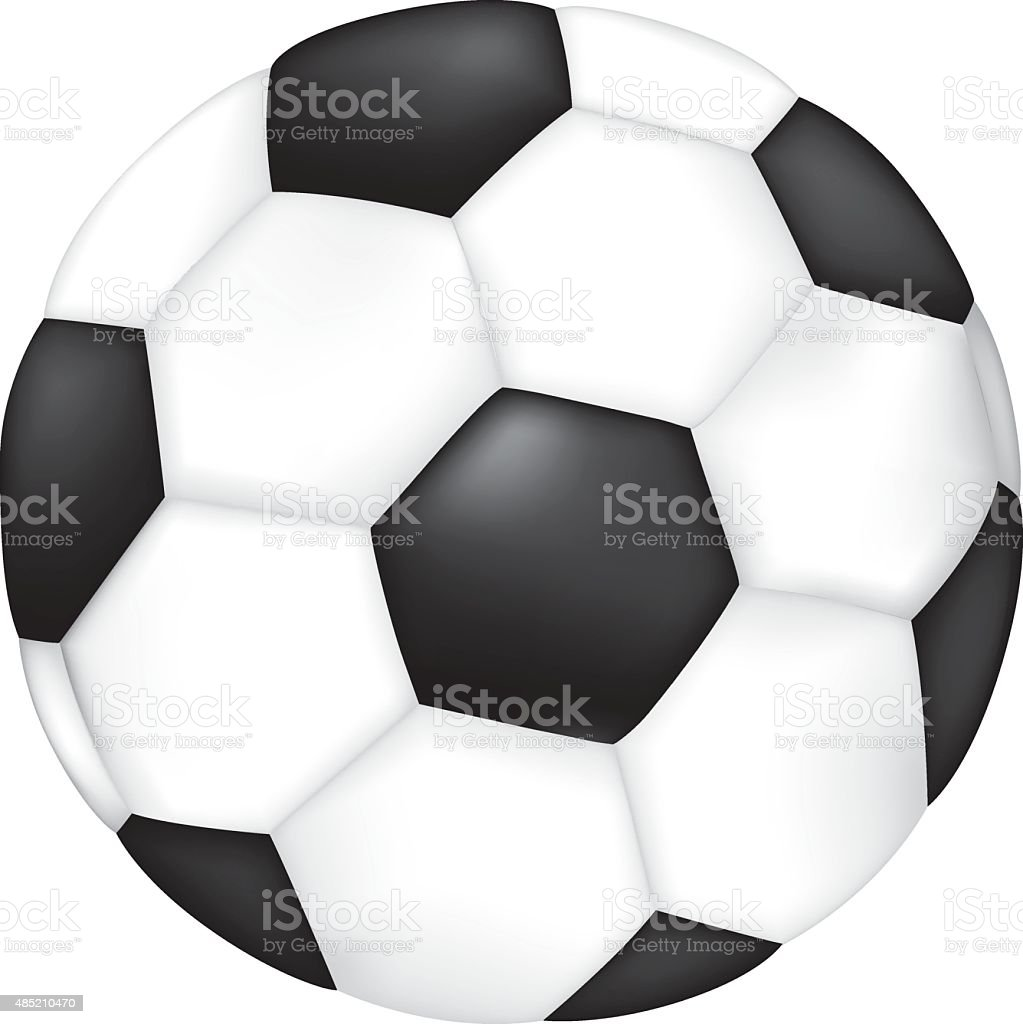 Object illustration sporting goods soccer ball vector art illustration