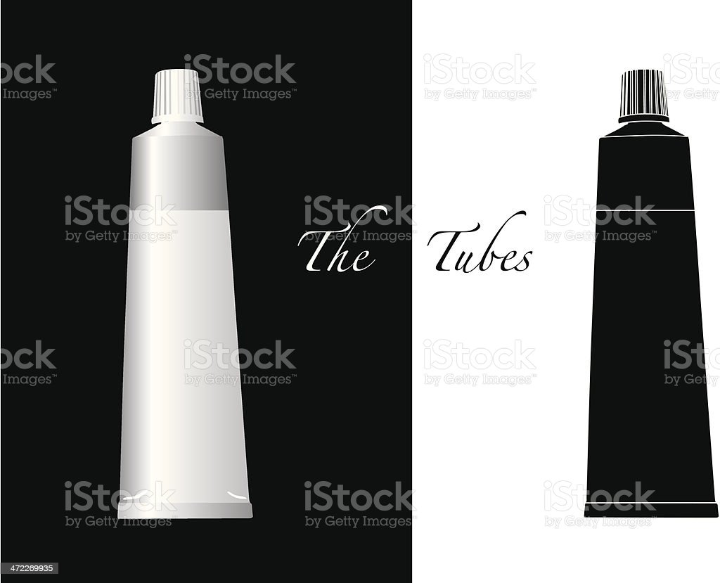 Object Series #1 - The tubes Object Series #1 - The tubes Obje royalty-free stock vector art