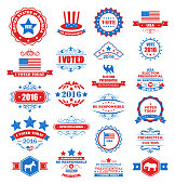 Objects and Symbols for Vote of USA
