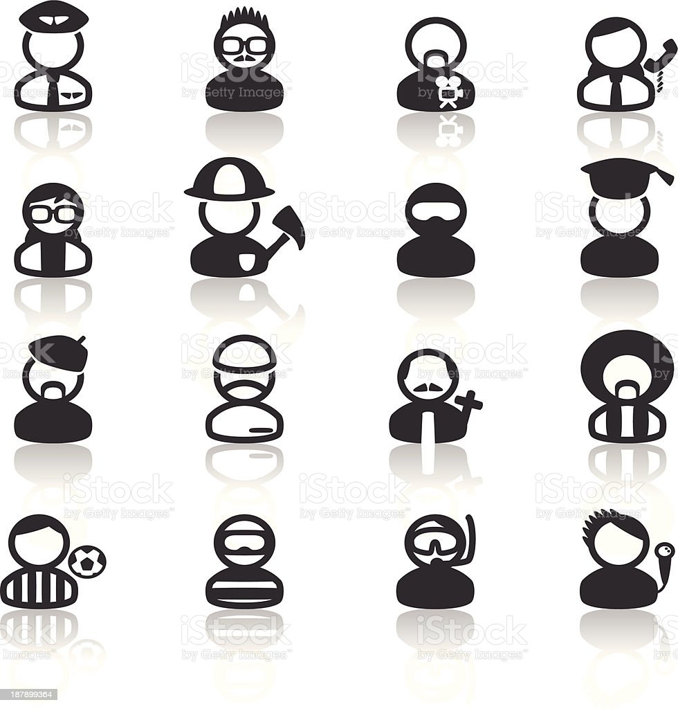 Occupation Icon vector art illustration