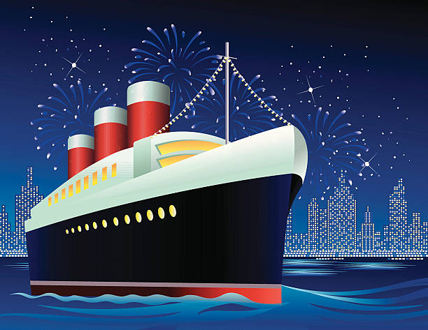 Rms Queen Mary Clip Art, Vector Images & Illustrations