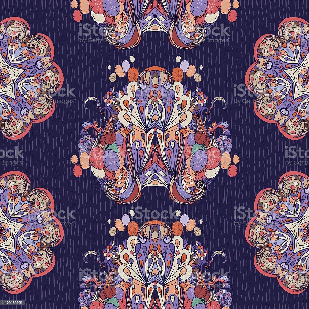 October night royalty-free stock vector art