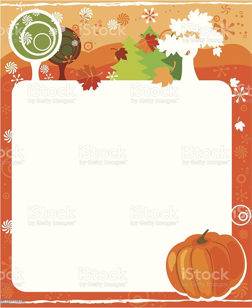 October royalty-free stock vector art